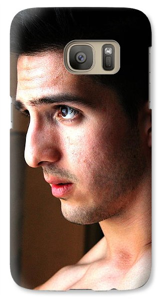 Galaxy Case featuring the photograph New Will by Robert D McBain