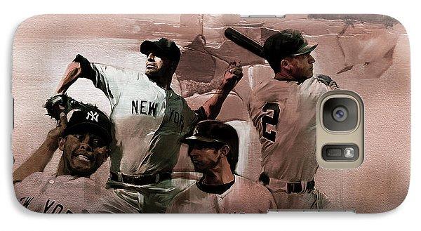 New York Baseball  Galaxy S7 Case by Gull G