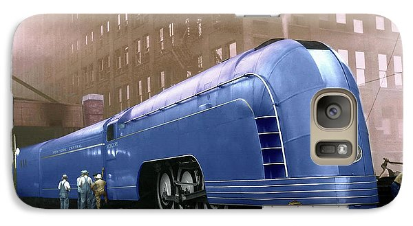Galaxy Case featuring the photograph New York Central by Steven Agius
