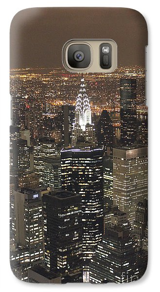 Galaxy Case featuring the photograph New York City by Laurinda Bowling
