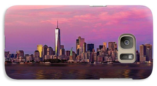 New York City Nyc  Landmarks Galaxy Case by Susan Candelario