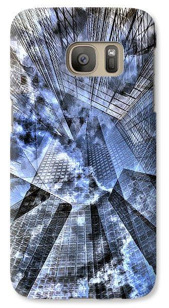 New York Iris Collage Galaxy S7 Case