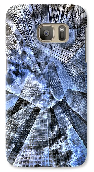 New York Iris Collage Galaxy S7 Case