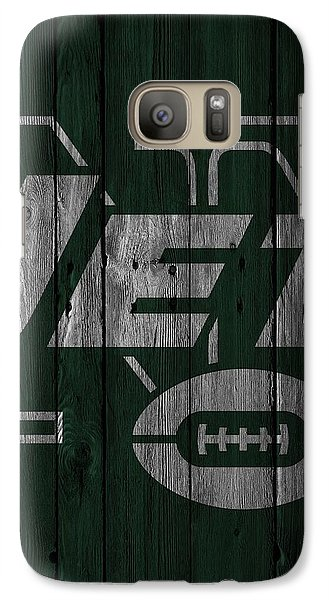 New York Jets Wood Fence Galaxy S7 Case