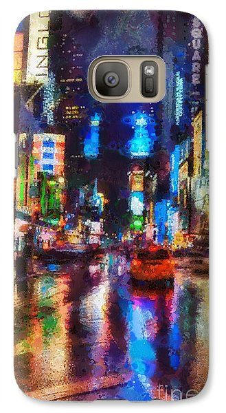 Mo Galaxy S7 Case - New York by Mo T