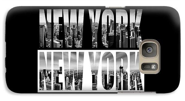 Empire State Building Galaxy S7 Case - New York New York by Az Jackson