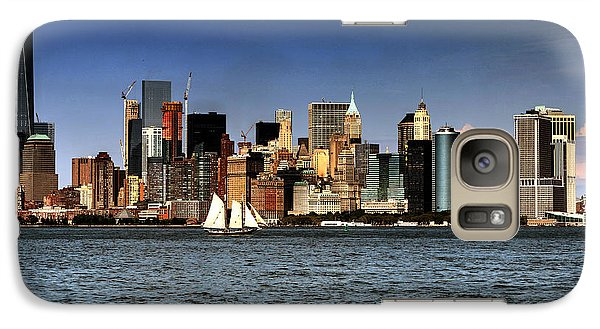 Galaxy Case featuring the photograph New York New York by Tom Prendergast