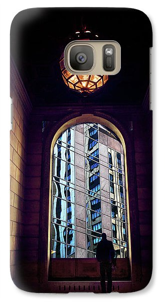 Galaxy Case featuring the photograph New York Perspective by Jessica Jenney