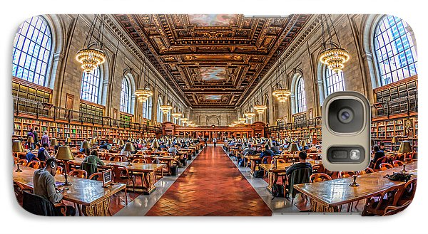 New York Public Library Main Reading Room I Galaxy S7 Case