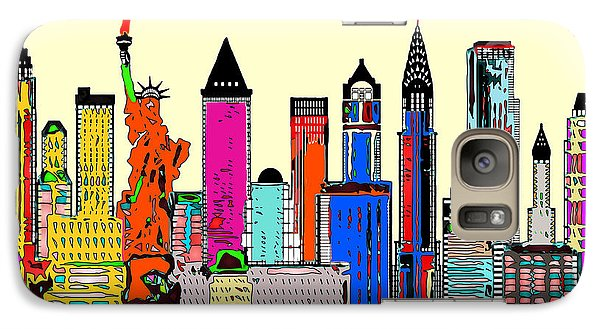 New York - The Big City Galaxy S7 Case
