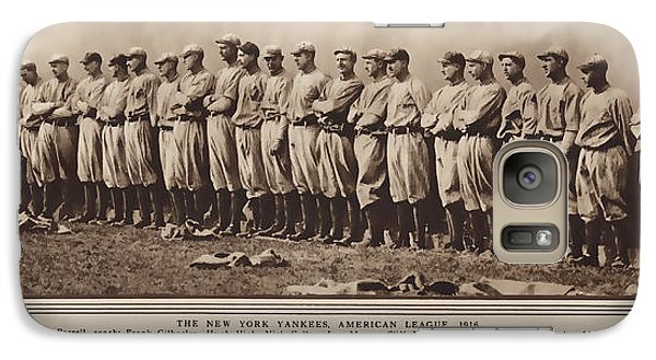 Galaxy Case featuring the photograph New York Yankees 1916 by Daniel Hagerman