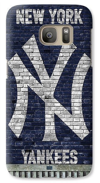 New York Yankees Brick Wall Galaxy S7 Case