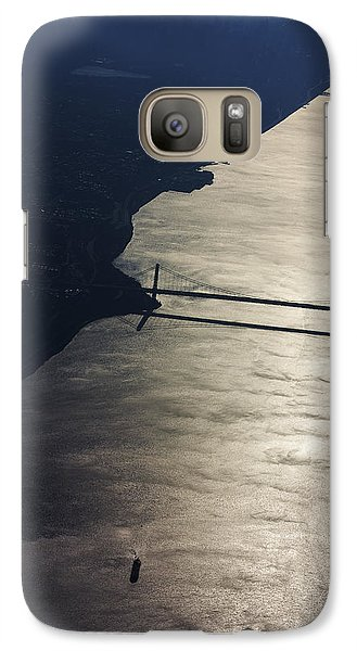 Galaxy Case featuring the photograph New York's East River by Carl Purcell
