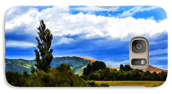Galaxy Case featuring the photograph New Zealand Legacy by Rick Bragan
