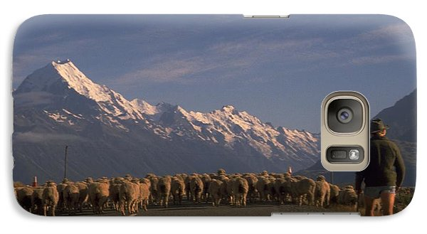 New Zealand Mt Cook Galaxy S7 Case