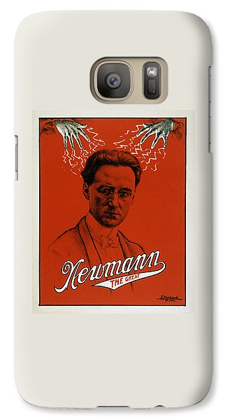 Newmann The Great - Vintage Magic Galaxy S7 Case by War Is Hell Store