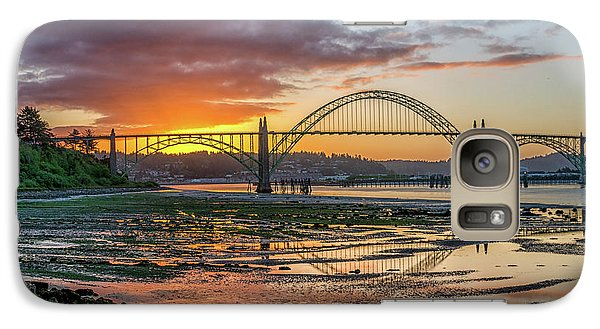 Newport Or Greeting Galaxy S7 Case