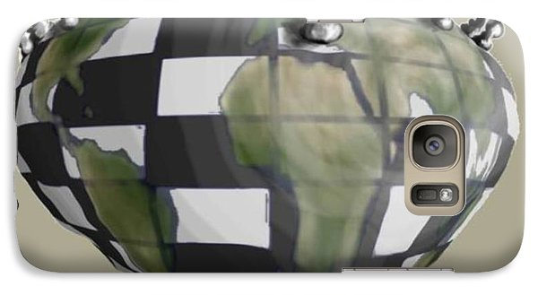 Galaxy Case featuring the digital art Next Move by Steve  Hester