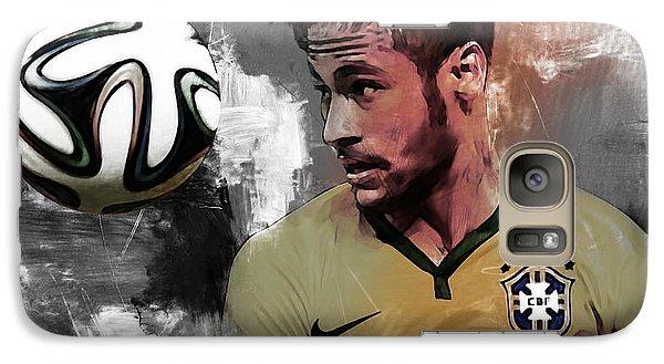 Neymar 051a Galaxy S7 Case by Gull G