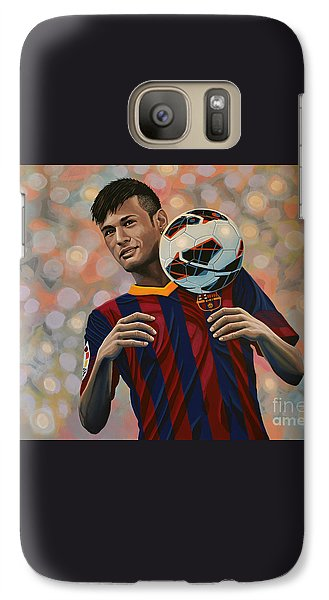Neymar Galaxy Case by Paul Meijering