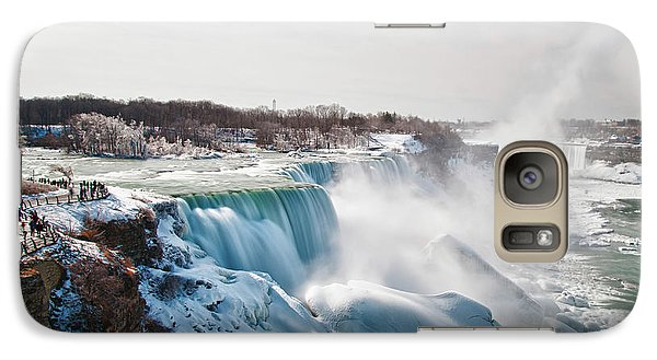 Galaxy Case featuring the photograph Niagara Falls 4589 by Guy Whiteley