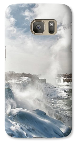 Galaxy Case featuring the photograph Niagara Falls 4601 by Guy Whiteley
