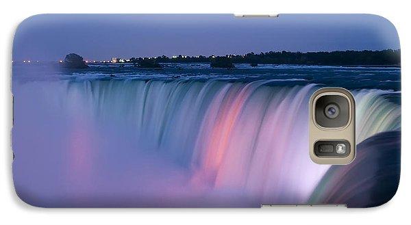 Niagara Falls At Dusk Galaxy S7 Case by Adam Romanowicz
