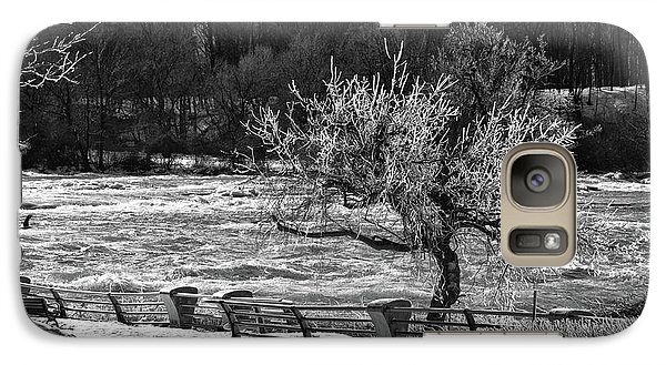 Galaxy Case featuring the photograph Niagara Falls Ice 4514 by Guy Whiteley