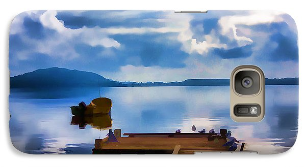 Galaxy Case featuring the photograph Nice Dock by Rick Bragan