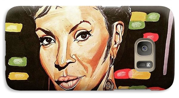 Galaxy S7 Case - Uhura  by Russell Boyle