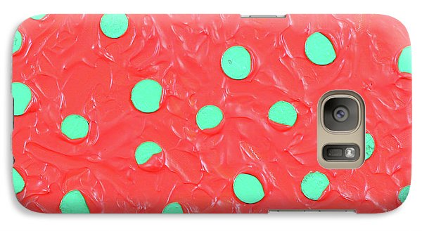 Galaxy Case featuring the painting Nickels And Dimes by Thomas Blood