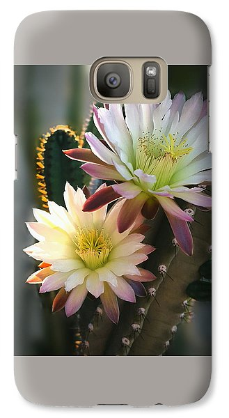 Galaxy Case featuring the photograph Night-blooming Cereus 3 by Marilyn Smith