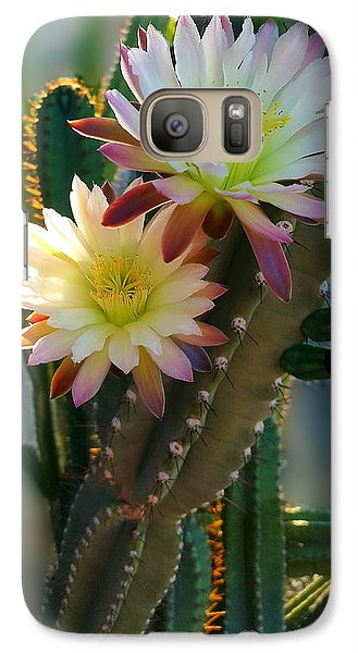 Galaxy Case featuring the photograph Night-blooming Cereus 4 by Marilyn Smith