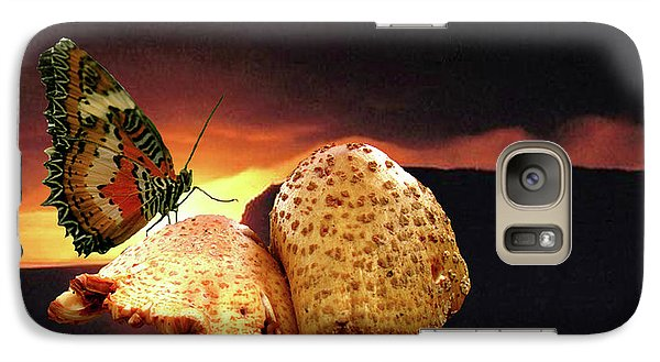 Galaxy Case featuring the photograph Night Fall by Donna Brown