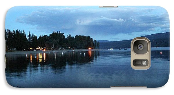 Galaxy Case featuring the photograph Night Fall by Victor K