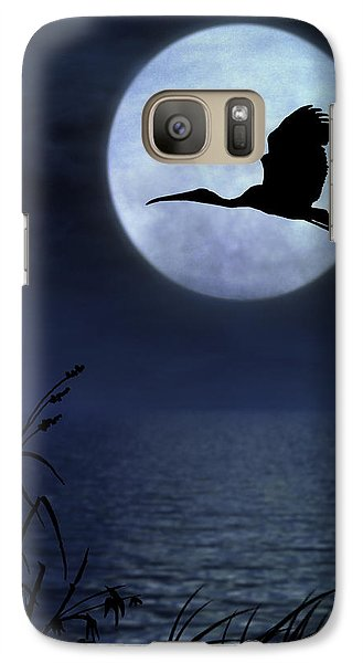 Galaxy Case featuring the photograph Night Flight by Christina Lihani