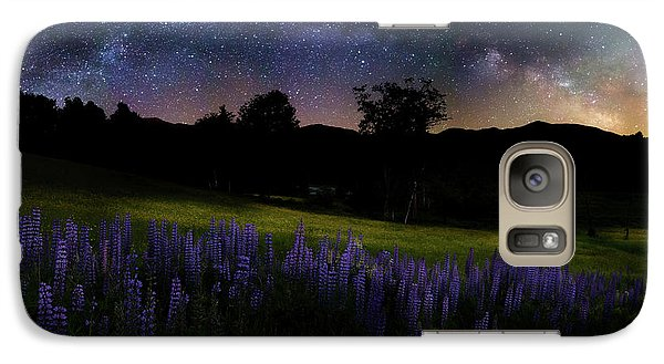 Galaxy S7 Case featuring the photograph Night Flowers by Bill Wakeley