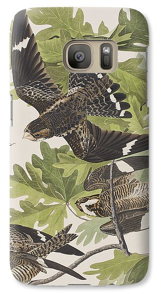 Night Hawk Galaxy S7 Case by John James Audubon