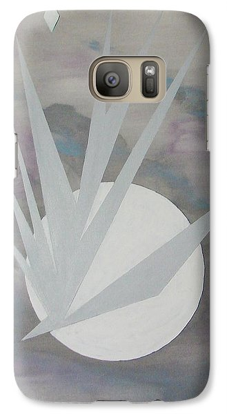 Galaxy Case featuring the painting Night Hawke II by J R Seymour