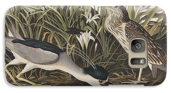 Night Heron Or Qua Bird Galaxy S7 Case