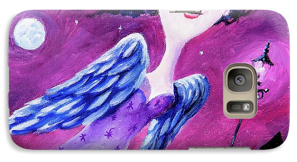 Galaxy Case featuring the painting Night In The City by Igor Postash