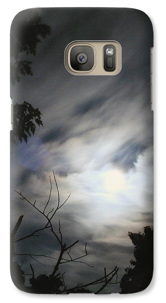 Galaxy Case featuring the photograph Night Light by Diane Merkle