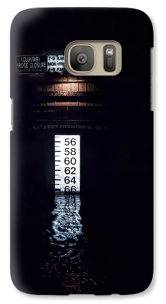 Galaxy Case featuring the photograph Night Piling by Richard Bean