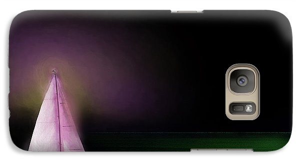 Galaxy Case featuring the painting Night Sailing by Michael Cleere