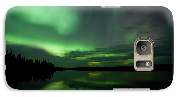 Galaxy Case featuring the photograph Night Show by Yvette Van Teeffelen