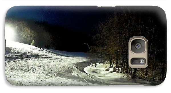 Galaxy Case featuring the photograph Night Skiing At Mccauley Mountain by David Patterson