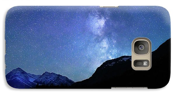 Galaxy Case featuring the photograph Night Sky In David Thomson Country by Dan Jurak