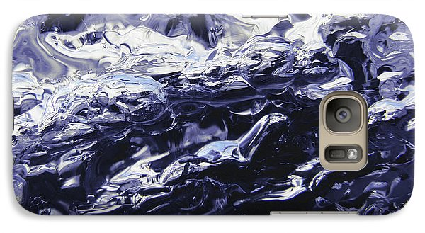 Galaxy Case featuring the photograph Night Swim by Sami Tiainen