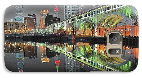 Galaxy Case featuring the photograph Night Time Glow by Frozen in Time Fine Art Photography