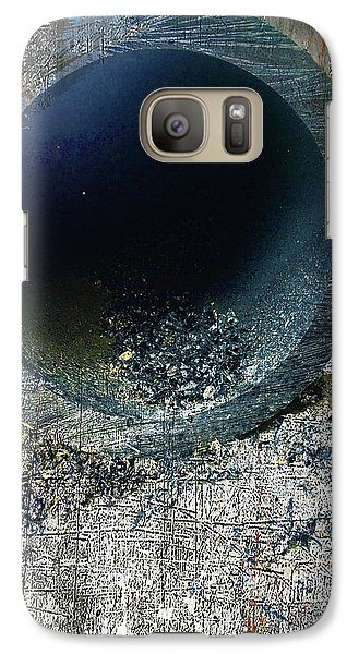 Galaxy Case featuring the mixed media Night by Tony Rubino